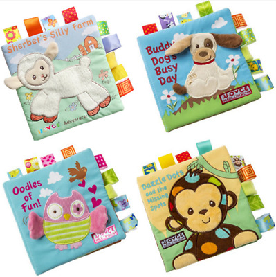 Intelligence Development Learn Cognize Book Soft Cloth Baby toys for children