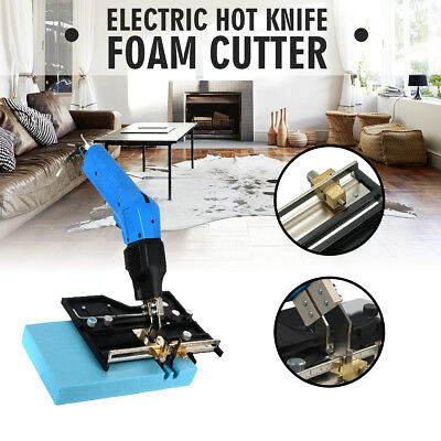 Lightweight Electric Hot Blade Foam Cutter Slotted Plate Grooving
