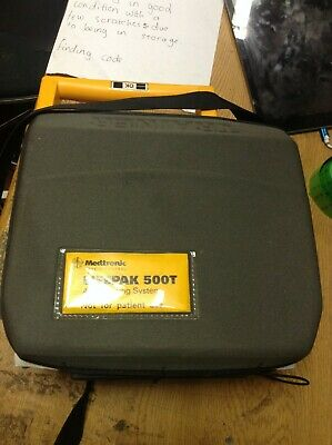 Medtronic Lifepak 500T AED Training System ABR218 60207