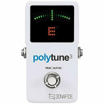 tc electronic PolyTune 3 Guitar Holistic Tuner Built-in Buffer Japan new.