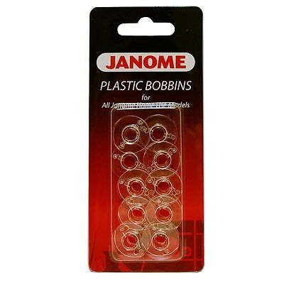 Bobbins Janome For All Janome Home Sewing Machines 1Pkt = 10 Bobbins