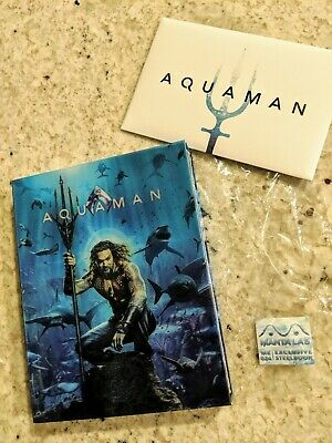 Aquaman Steelbook (HDzeta) & Lenticular Full Slip (Manta Lab) **please read**
