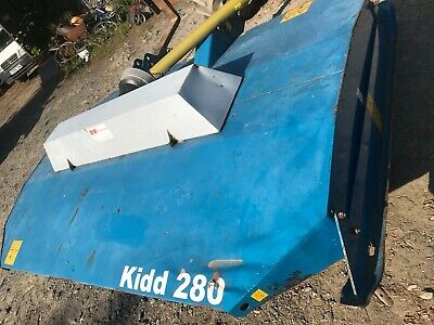 2015 Kidd 280 Rotary Topper - Good Used Condition - Price Includes Vat