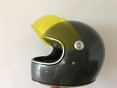 CASCO biltwell GRINGO S charcoal limited edition CAFE RACER + 2 VISIERE nuove!!!