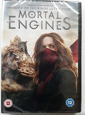 Mortal Engines (DVD 2019) with bonus features, New, Sealed