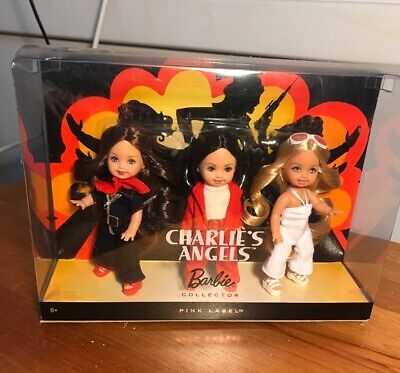 Charlie's Angels Barbie Collector Pink Label Kelly NRFB Mattel