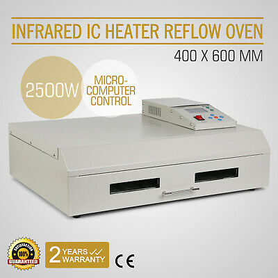 T-962C SMD BGA Infrared Heater Automatic Reflow Oven Soldering 400×600mm 2800W