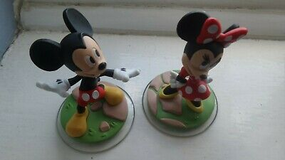 Disney Infinity 3.0 Mickey and Minnie Mouse figures BUY 1 GET 1 AT 20% OFF