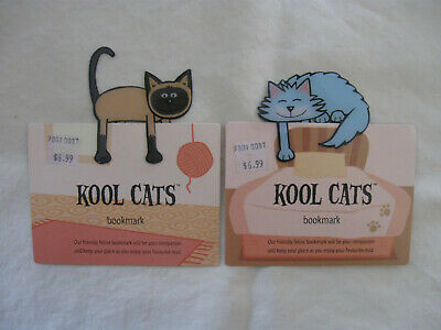 Cat Bookmark-Set Of Two