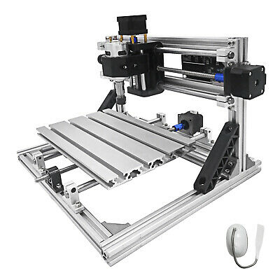 3 Axis CNC Router Kit 2418 Engraver 2020 Aluminium Profiles USB Port Machine