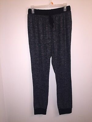 Ultra Teeze Black and White Women's Lounge Pants Sz Large