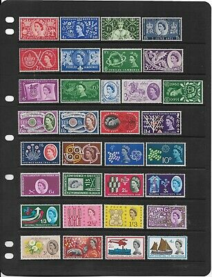 Gb. 1953-64 Commemorative Sets, Complete Mnh. (53 Stamps)  (584)