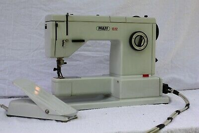 Pfaff 1222E Sewing Machine And Pedal Controller At0017 Spare And Repair