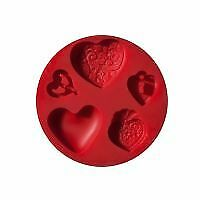 Clay Push Mould by FIMO hearts
