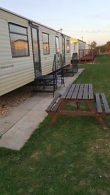 Static Caravan For Hire Oct 2019. Chapel St Leonards, Golden Palm, Skeg.