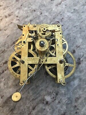 2 Vintage Clock Movements. 1 E.N. Welch & 1 E. Ingraham. Selling As Parts.