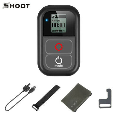 SHOOT Waterproof Smart WiFi LCD Remote Controller for GoPro Action Camera S5J4