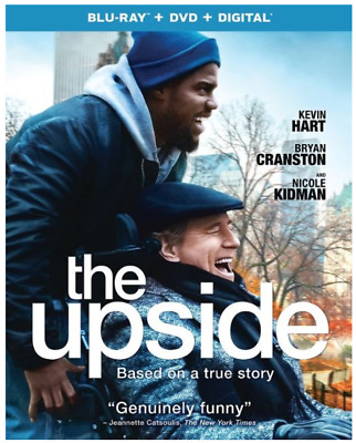 """""""the upside"""" [Blu-ray + DVD + Digital] - NEW/Factory sealed + Slipcover"""