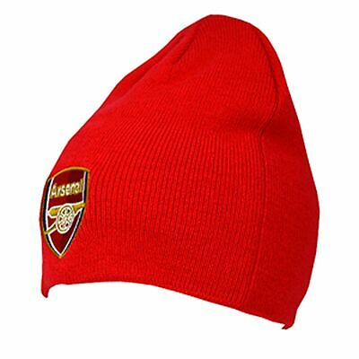 Arsenal Core Beanie Knitted Hat - Red New Sport Football Winter Gift Birthday