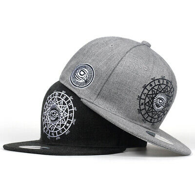 Black Gray Baseball Cap Hat Cotton Eye Embroidery Bone Hip Hop Men Women Gorras