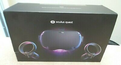 Oculus Quest All-in-one VR Gaming Headset 128GB Black - Barely Used - NICE! F210