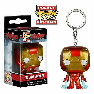 Funko Avengers Age of Ultron Iron Man Pocket Pop! Vinyl Figure Key Chain
