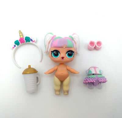LOL Surprise Doll Confetti Pop Wave 2 Girl Toy Series 3-012 UNICORN Color Change