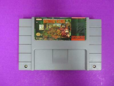 AUTHENTIC ** Donkey Kong Country (Super Nintendo, 1994) SNES ** WORKS GREAT!