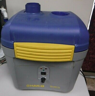 Hakko FA-430 ESD-Safe Fume & Smoke Extraction System W/ Duct and power cord