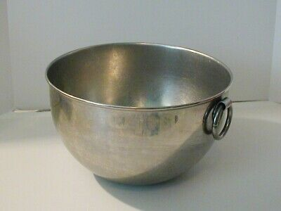 Vintage Revere Ware 2 Qt Stainless Steel Bowl Made USA Ring Mixing Serving Store