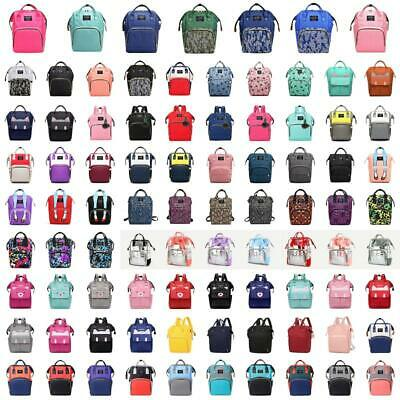 Baby Diaper Nappy Changing Mummy Bags Large Rucksack Maternity Backpack Satchel