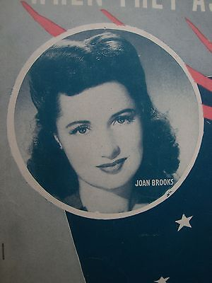 When They Ask About You - Joan Brooks - Sam H. Stept - Slowly - Musiknote 1943