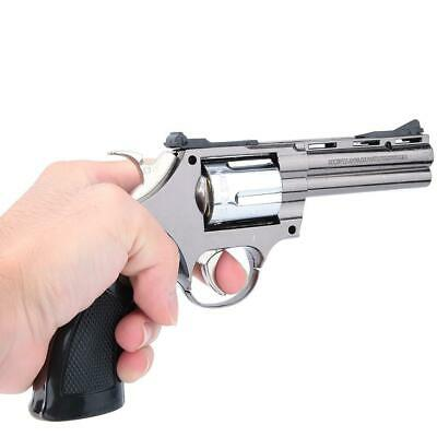 Retro Windproof Metal Wood Flame Gas Butane Revolver Cigarette Lighter Cool Gift