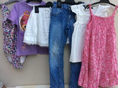 Girls Clothes Bundle 5-6 Years Next H&M George Shimmer & Shine VGC