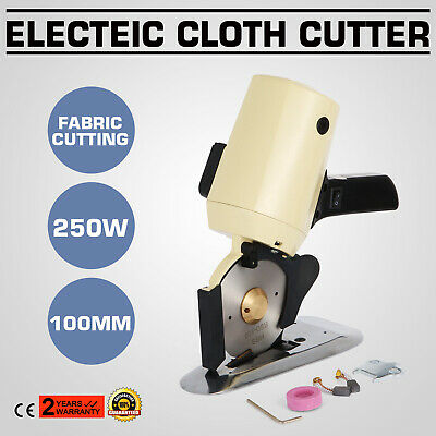 100mm Electric Cloth Cutter Fabric Cutting Machine  Blade Octa Round 2 Blades