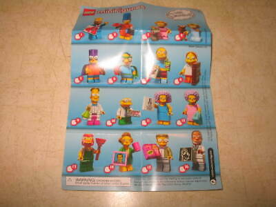 Lego 71009 Simpsons Series 2 Minifigure - PICK YOUR MINIFIGURES **READ**