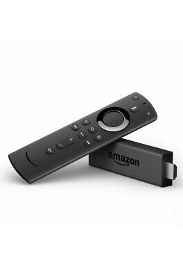 Amazon Fire TV Stick 2019 All-New Alexa Voice Remote with TV Control Buttons