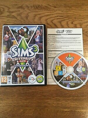 The Sims 3: University Life - Expansion Pack (PC / Mac, 2013)