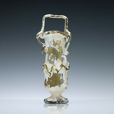 An Ancient Glass Kohl Bottle Circa 4th Century A.D