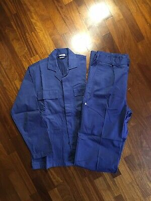 Vintage Italian Sanfor Work Suit, 50 (L). Working Class 70s-80s, Jacket + Chinos