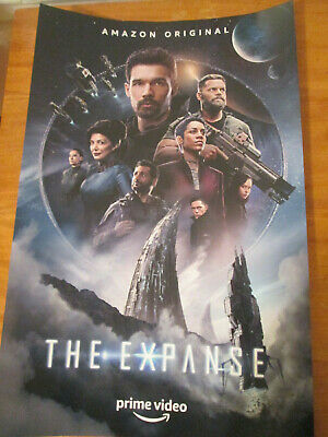"""BRAND NEW NYCC 2019 THE EXPANSE 11""""x17"""" TV SERIES POSTER PRINT"""