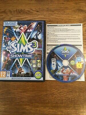 The Sims 3: Showtime - Expansion Pack (PC / Mac, 2012)