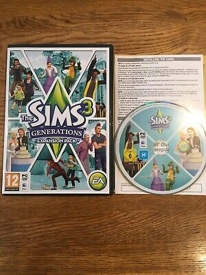 The Sims 3: Generations - Expansion Pack (PC / Mac, 2011)