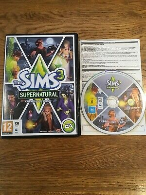 The Sims 3: Supernatural - Expansion Pack (PC / Mac, 2012)