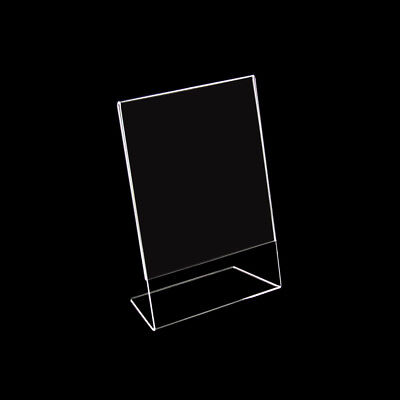 12 x Acrylic Stand,Acrylic Stand Tabletop Stand Din A5 Acrylic, New (100805)