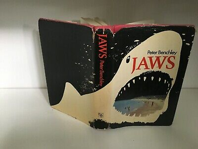 Jaws by Peter Benchley 1974 1st Book Club Edition