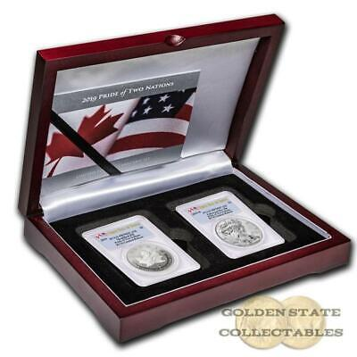 PRESALE 2019 Limited Release RCM Pride of 2 Nations Set PR70 DCAM PCGS FDOI 10K