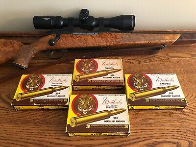 Vintage Weatherby .300 Magnum Ultra Velocity W/Brass ☛ Tiger Head Collection