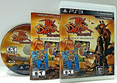 Jak & Daxter Collection COMPLETE Sony PlayStation 3 PS3 E-T Platform VIDEO GAME