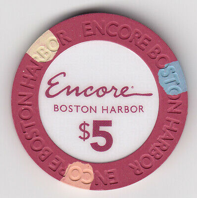 $5 Encore Boston Harbor Casino Chip (EVERETT, MA)